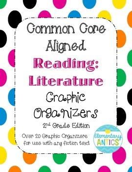 FREEBIE- Sample Reading Literature Common Core Graphic Org