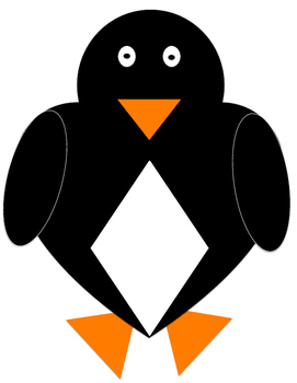 FREEBIE!!!!!! Shapes Penguin Craftivity- NO PREP!