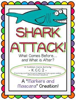 FREEBIE!  Shark Attack! What Comes Before and What Comes After