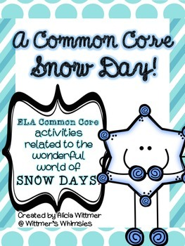 {FREEBIE} Snow Day Activities aligned to Common Core