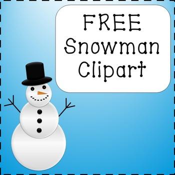 FREE Snowman Clipart