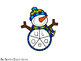 FREEBIE! Snowman Short Vowels Spinner and Word Cards