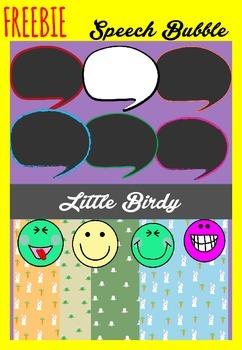 FREEBIE- Speech Bubbles