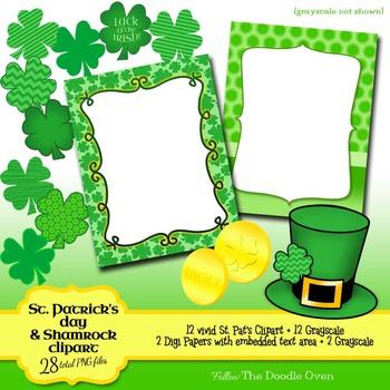 St. Patrick's Day Clipart Bundle #2