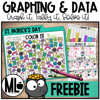 Forever FREEBIE* St.Patrick's Day Graphing and Data