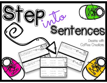 FREEBIE! Step Into Sentences