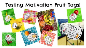 FREEBIE Testing Motivational Fruit Tags!