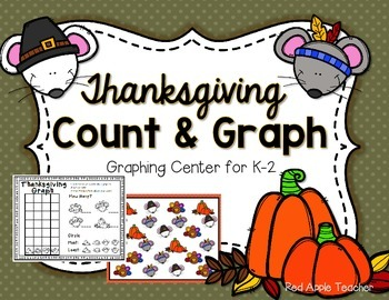 FREEBIE--Thanksgiving Count & Graph for K-2