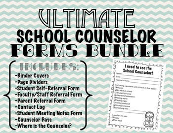 Elementary School Counseling Forms
