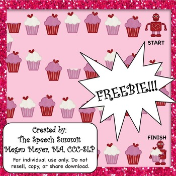 FREEBIE: Valentine Game Board