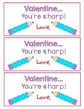 FREEBIE Valentine from Teacher
