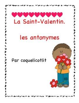 FREEBIE -Valentine's day : les antonymes