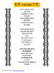 FREEBIE Version of A.M. versus P.M. original poem