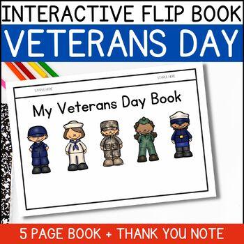 FREEBIE!  Veterans Day Flip Book