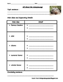 FREEBIE Wampanoag Two Column Notes
