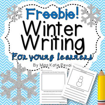 FREEBIE! Winter Writing for K-2