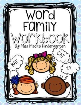 FREEBIE - Word Family {Rhyming Words} Workbook