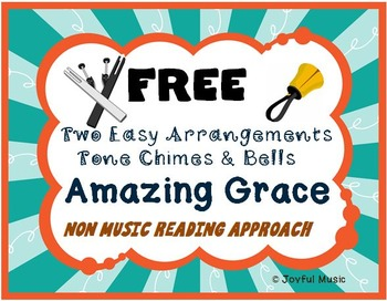 FREE Worship with Chimes & Bells Music Series AMAZING GRACE