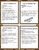 FREEbie Sample of Math Independent Study-Number Sense