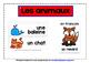 FRENCH ANIMALS (1) - CLASSROOM DECOR BUNDLE - 40 DISPLAY P