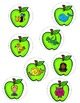 FRENCH Apples ABC Center/ Atelier Alphabet (Pommes)