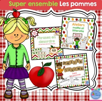 FRENCH {Apples} Mega Pack/Super ensemble {Les pommes}