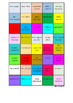 FRENCH - COLOUR MATCH - Greetings and Exclamations