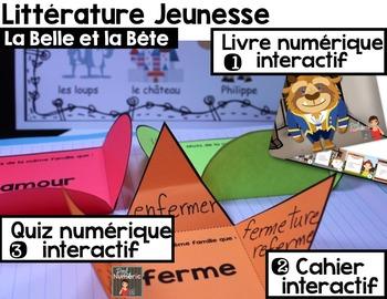 Cahier interactif + Quiz iBook + Histoire audio (La Belle