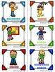 FRENCH Classroom Jobs- Colourful Polka dots/Responsabilités