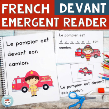 FRENCH Emergent Reader - DEVANT