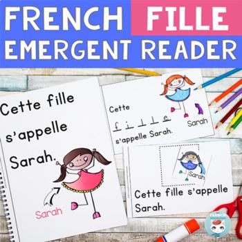 FRENCH Emergent Reader - FILLE