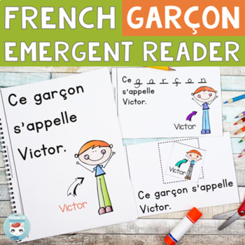 FRENCH Emergent Reader - GARÇON