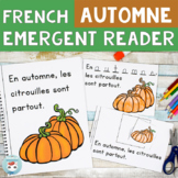 Automne FRENCH Emergent Reader  AUTUMN / FALL