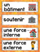 FRENCH FORCES ACTING ON STRUCTURES UNIT - GRADE 5 SCIENCE