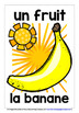 FRENCH FRUITS - 25 DISPLAY POSTERS / FLASHCARDS