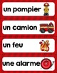 FRENCH {Fire Safety} Math and literacy Pack/ Activités Séc