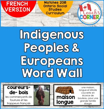 FRENCH First Nations and Europeans in New France and Early