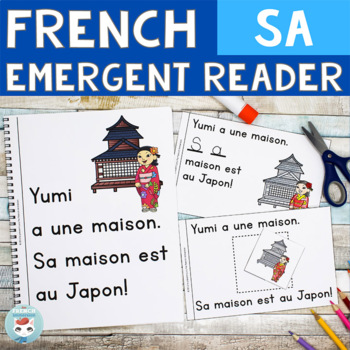 FRENCH Emergent Reader - SA (maison)