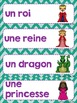 FRENCH {Knights and Castle} Math and literacy Pack/ Activi
