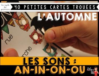 LES SONS - Petites cartes trouées (poke card)