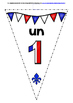 FRENCH NUMBERS 0-31 BACK TO SCHOOL BANNERS/BUNTING