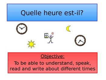 FRENCH - PPT - Time