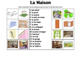FRENCH - Picture Match - La Maison (house)