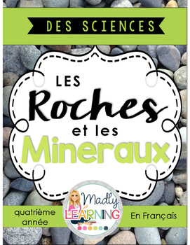 FRENCH:Rocks and Minerals Unit: Interactive Notebook & Res