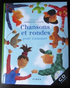 MUSIC FRENCH SONGS SONGBOOK CD Chansons et rondes pour s'a