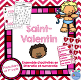 FRENCH {Valentine's day} Math and literacy Pack/ Activités