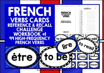 FRENCH VERBS (1) - GAMES & ACTIVITIES - 99 VERBS