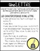 FRENCH Writing Forms Posters (Elements of narratives,lette