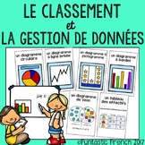 French Data Management Graph posters and word wall (traite