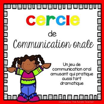 Jeu de communication orale : le cercle d'art dramatique